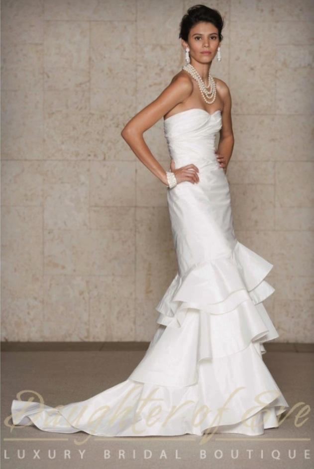 Odlr Oscar De La Renta Look 22 Bridal Wedding Gown Daughter Of Eve