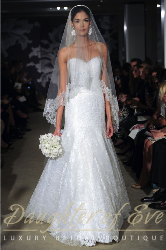 carolina herrer corrina bridal wedding dress and veil