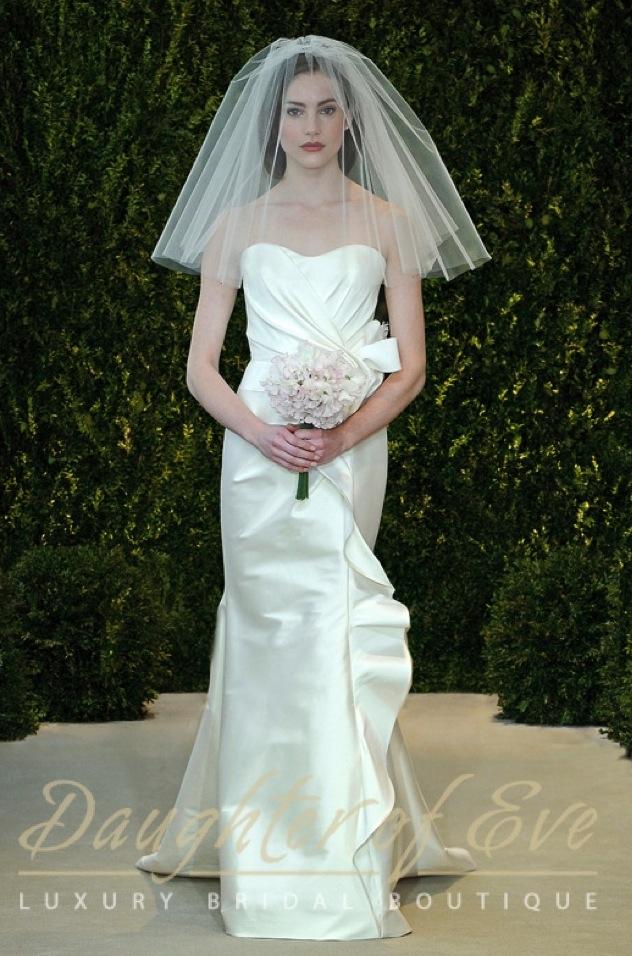 carolina herrera arielle bridal wedding dress