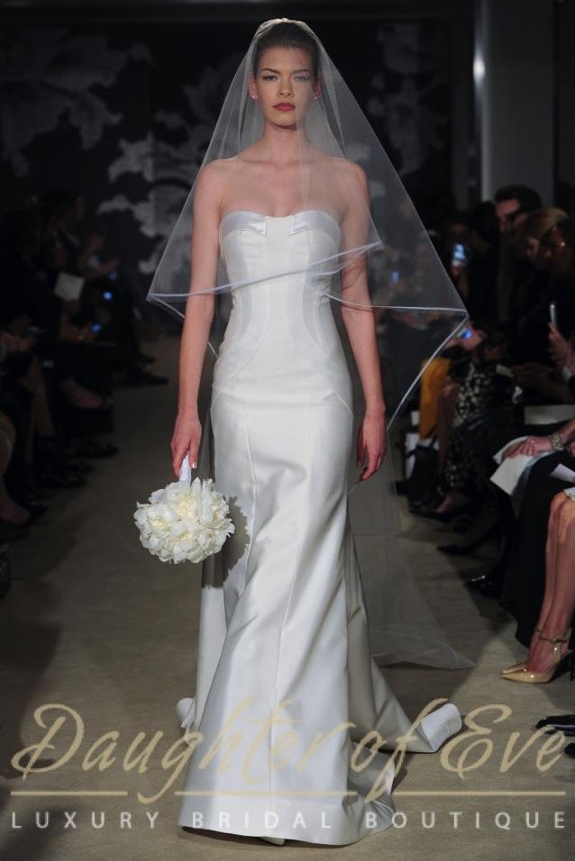 carolina herrera constance bridal wedding dress