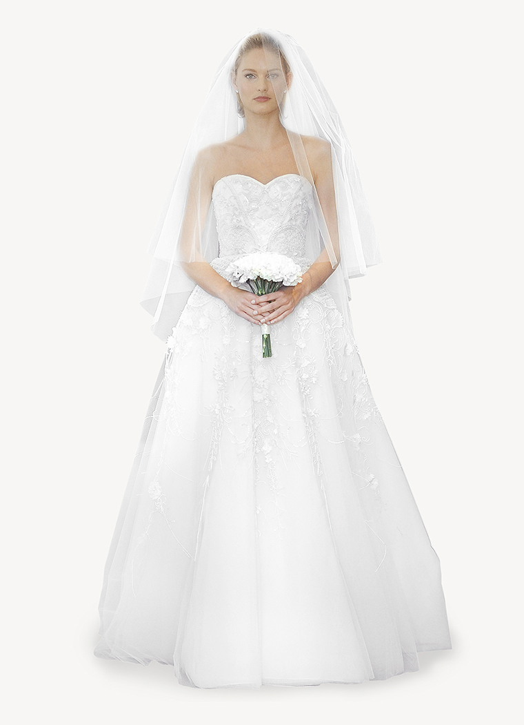 Summer sample dress sale carolina herrera bridal in Carolina herrera wedding dresses for sale