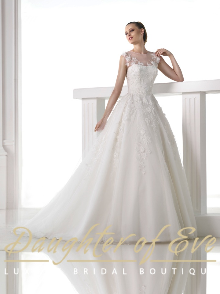Melibea Pronovias www.daughterofeveboutique.com image