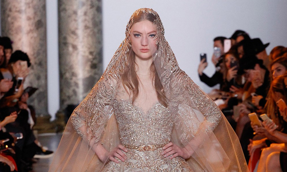 Inspired by Elie Saab's Haute Couture 2017